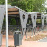 Keila raudteepeatuse jalgrattaparkla